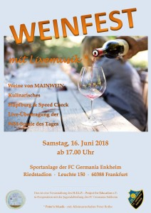 Weinfest Germania Enkheim 2018